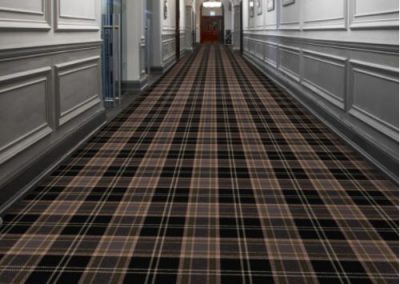 Tartan Black Corridor