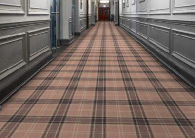 Tartan Linen Corridor