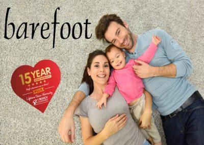 Barefoot – £19