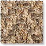 Jute Big Herringbone