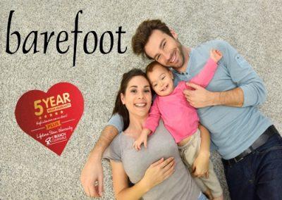 Barefoot – £15